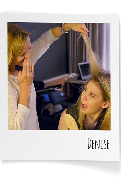 Denise und ihre Mom sind ein Beauty-Dream-Team.