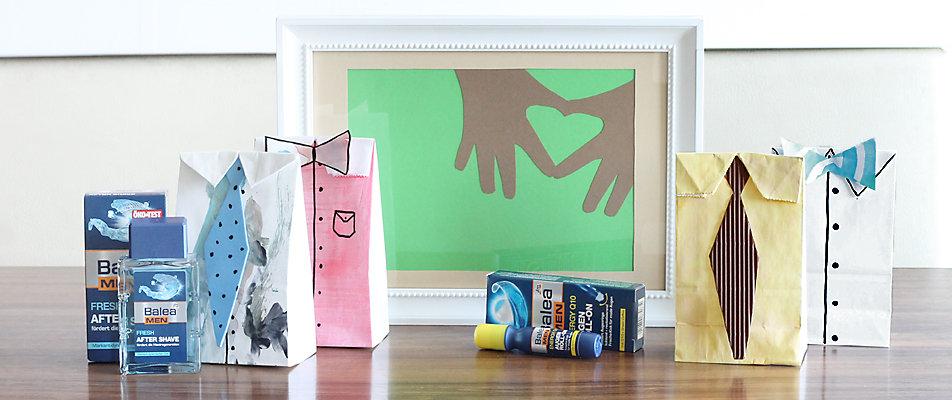 basteln f r den vatertag dm online shop magazin. Black Bedroom Furniture Sets. Home Design Ideas
