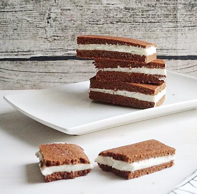 Eiscreme-Sandwich