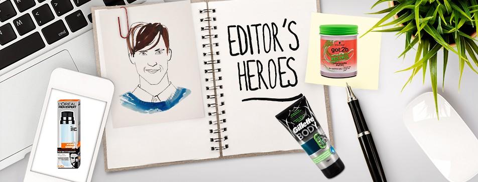 Editor's Heroes: Diese 6 Grooming-Produkte braucht der gepflegte Mann im Sommer.