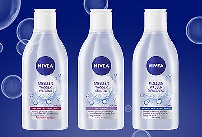 Mizellenwasser ist sanft zur Haut und damit auch für sehr sensible Haut geeignet.