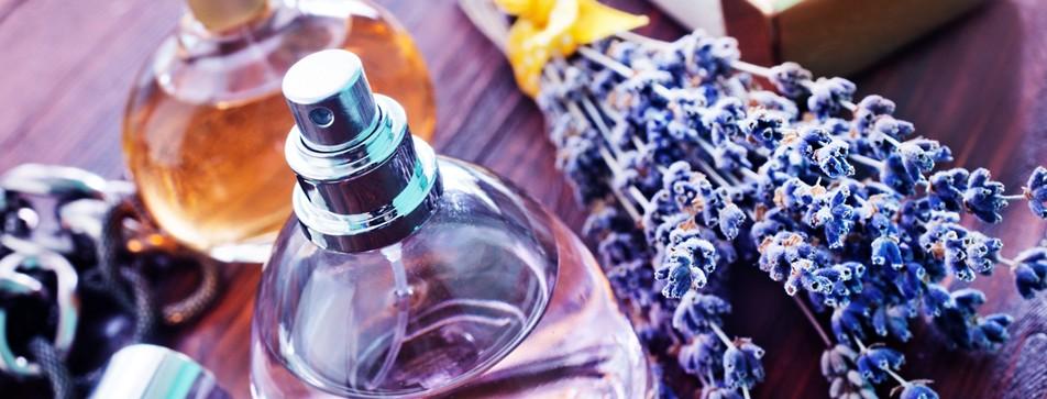 Parfum mit Lavendel