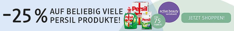 -25% auf beliebig viele Persil Produkte