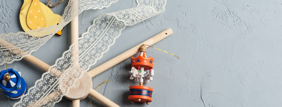DIY-Babymobile: so einfach geht's.