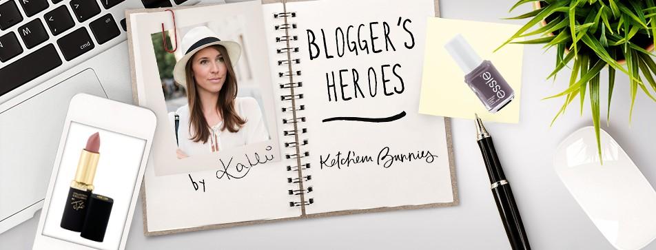 Das sind Kathis Blogger's Heroes.