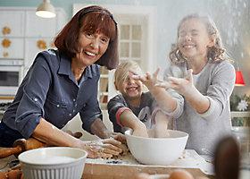 Kekse backen mit der ganzen Familie