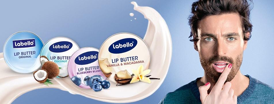 Zarte Pflege trockener Lippen, wunderbares Dufterlebnis: Labello Lip Butter