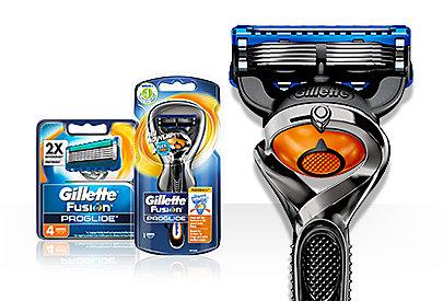 Auch unter der Dusche verwendbar: Trimmen mit dem Gillette Fusion ProGlide Styler