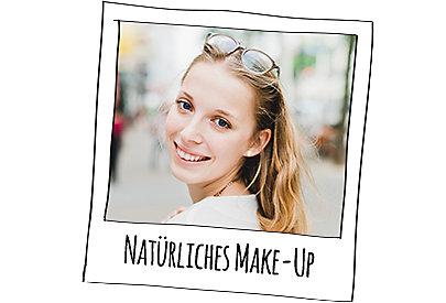 Lena setzt auf natürliches Make-Up.
