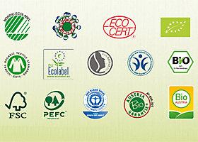 Nachhaltigkeits-Siegel