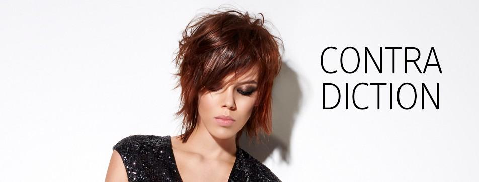 Out-of-bed: frech gestufter Haarschnitt.
