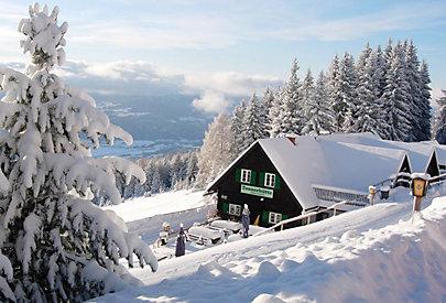 Gewinnspiel: Übernachten Sie in der schönen Tonnerhütte am Zirbitzkogel.
