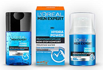 Hydra Power After-Shave und Feuchtigkeitspflege