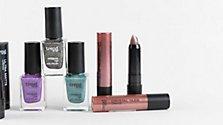 Weihnachtliches Glitzer-Make-Up