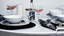 DIY weihnachtliche Tischdeko