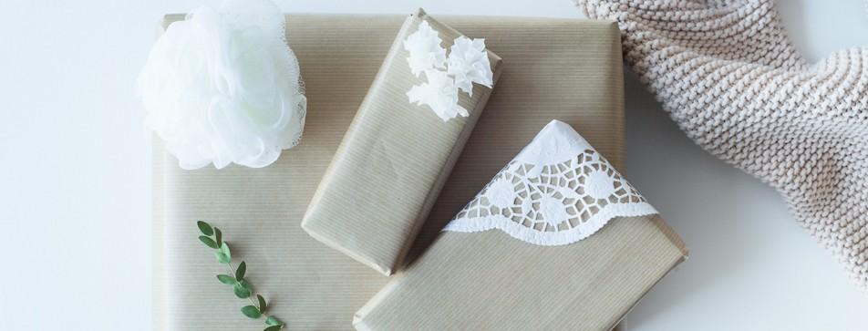 Geschenke kreativ verpackt