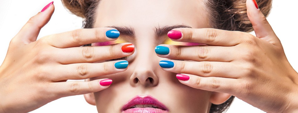 Colour Blocking Nagellack