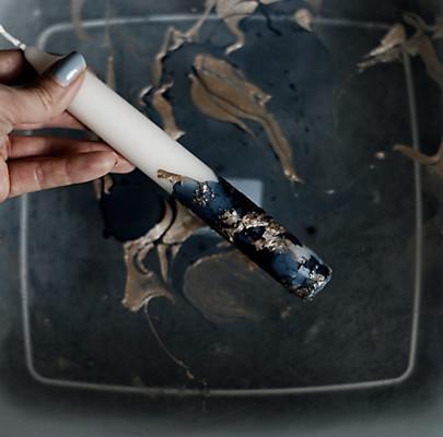 DIY Kerzenständer