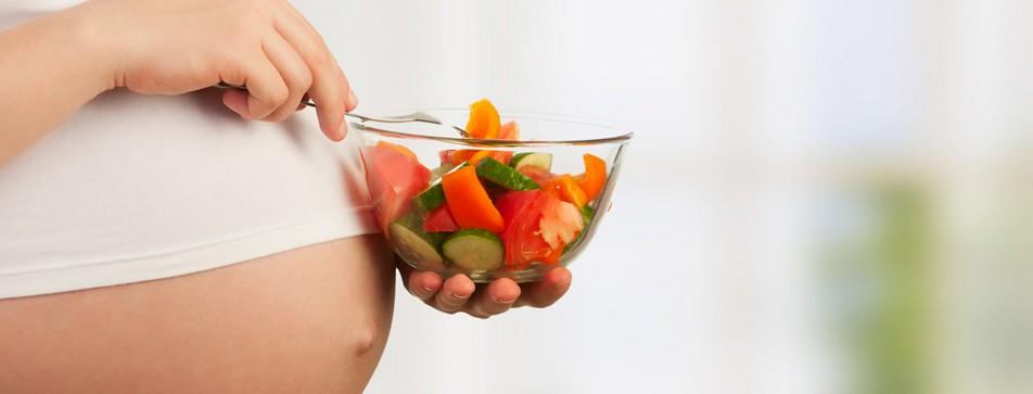 Ernährung in der Schwangerschaft.