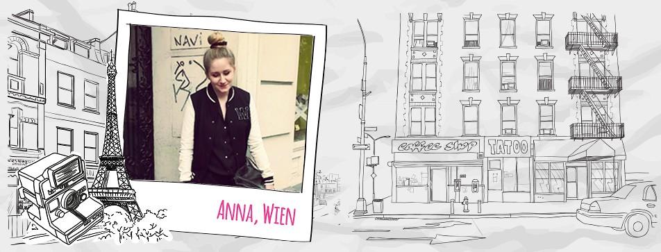 Anna aus Wien über Stil und Make-up.