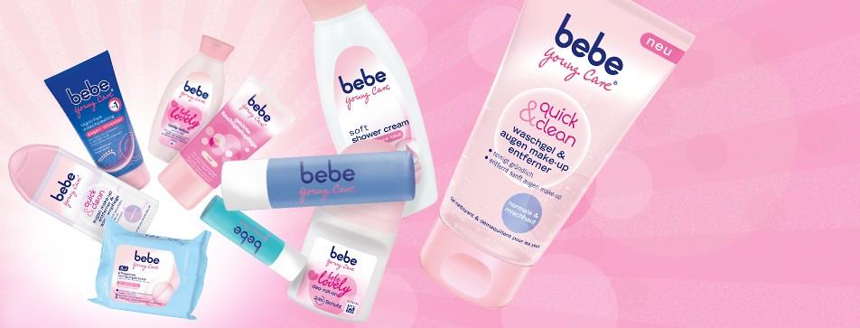 bebe® liebt und pflegt junge Haut schon seit über 50 Jahren. Entdecke jetzt die spannende Geschichte der Marke!