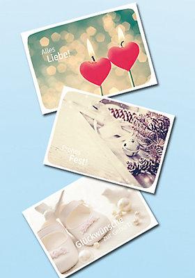 Kostenlose Grußkarte zu jeder Bestellung im dm Online Shop!